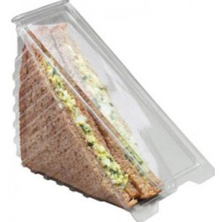 Single Sandwich Containers Per 500
