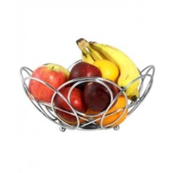 Roma Stainless Steel Round Fruit Basket
