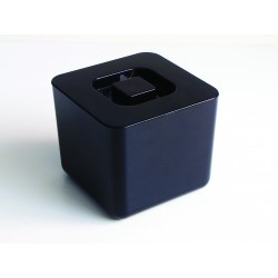 Black Square Ice Bucket 4 Litre/7 pints