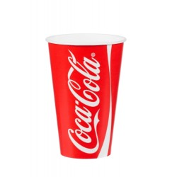 25cl/9oz Coca Cola Paper Cups Per 2000