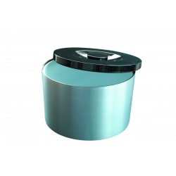 Plastic 10 Litre Brushed Aluminium Effect Ice Bucket