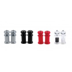 Acrylic Salt/Pepper Mills 14cm Per Pair