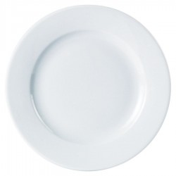 "Porcelite 6.5"" 17cm Standard Winged Plate Each"