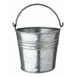 Galvanised Steel 10.5cm Serving Bucket