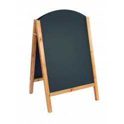 Reversible Curved Top A-Board 800x515mm