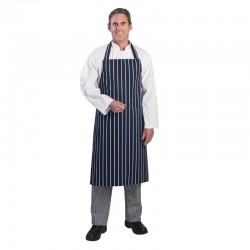 Black Poly Cotton Bib Apron Each