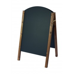 Curved Top A-Board 800mm x 515mm