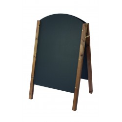 Curved Top A-Board 1100mm x 665mm