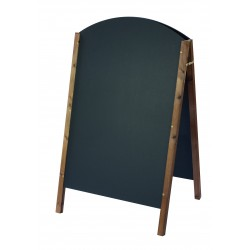 Curved Top A-Board 1400mm x 765mm