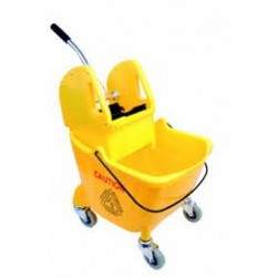 Yellow 24Ltr Kentucky Bucket & Wringer