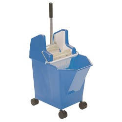 Blue Ladybug Bucket With Castors