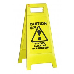 Slippery Surface Fold Sign 40""