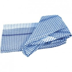 "Blue Super Dryer Tea Towels 18x28"" Per 10"