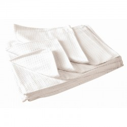 White Honeycombe Cloths Per 10