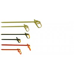Bamboo Looped Skewer 90mm Per 1000