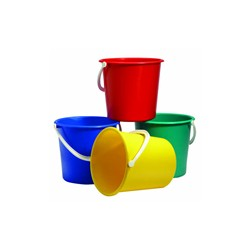 9Ltr Plastic Bucket-Blue