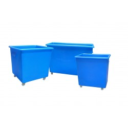 Blue Bottle Skip 660 x 620 x 695 mm