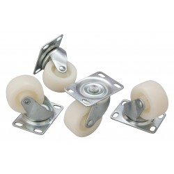 Replacement Castors/ Wheels for Bottle Skip Per 4
