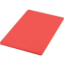 "18""X12"" Chopping Board Raw Meat Red Each"