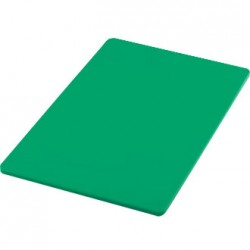"18""X12"" Chopping Board Salad & Fruit Green Each"