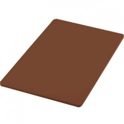 "18""X12"" Chopping Board Vegetable Brown Each"