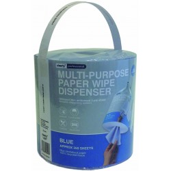 2Ply White Embossed Maj. Centre Feed Rolls Per 6