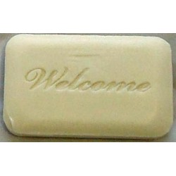 White Welcome Guest Soap 17g Per 144