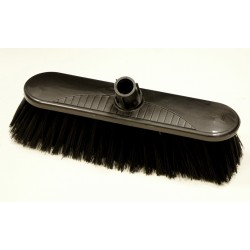 "12"" Black Soft Interterchange Broom"