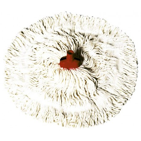 "Interchange Mini 14"" Red Cotton Mop Each"