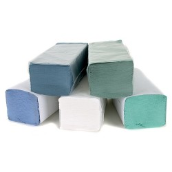 Blue Interfolded Paper Hand Towel Per 3600