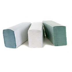 White Z-Fold 2Ply Hand Towels Per 3000