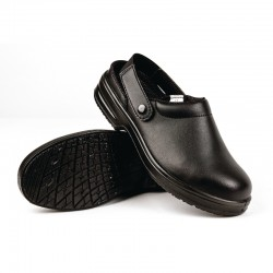 Lites Black Safety Clog 5 -12 Available