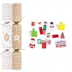 """11"""" Bauble & Star Eco Friendly Crackers per 50"""
