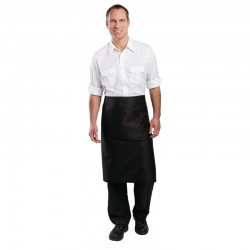 Bistro Apron Black 1000x700mm