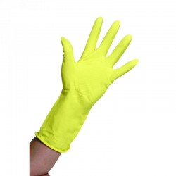 Large Household Rubber Gloves Per 10