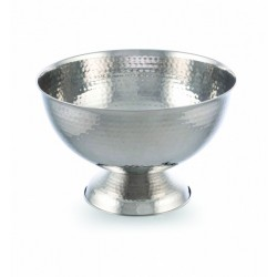 Bollate Wine/ Champagne Cooler, Hammered finish H20cm D33cm
