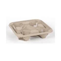 4 Cup Carry Tray Each