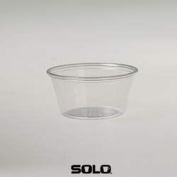 2oz Clear Plastic Tub Per 2500