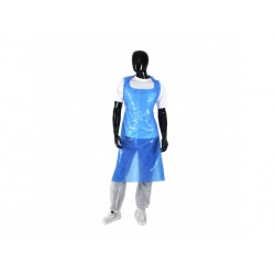 "BLUE Disposable Aprons 27x42"" Per 200"