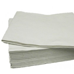 "36""x36""White Paper Table Cover Per 250"