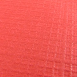 "36""x36"" Red Paper Table Cover Per 25"